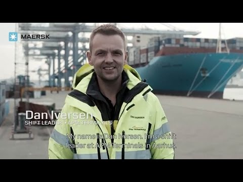 """The Values to me: Shift Leader in APM Terminals, Dan Iversen, on """"Our Employees"""""""