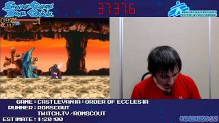 Castlevania: Order of Ecclesia :: SPEED RUN [DS] by romscout #SGDQ 2013