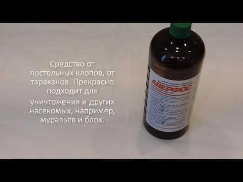 Аверфос средство для уничтожения клопов и тараканов