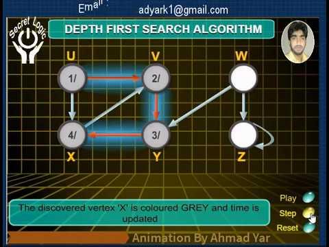 Depth First Search Algorithm   Graph Algorithm   Programming