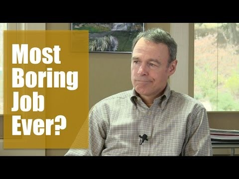 Is financial planner the most boring job ever?