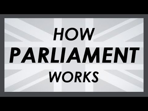 How the UK's Parliament Works