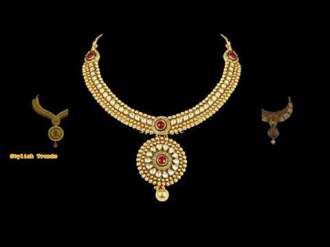 Antique Jewelry designs from Lalitha Jewelries
