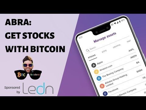 Abra – Investing In Stocks And ETFs With Bitcoin