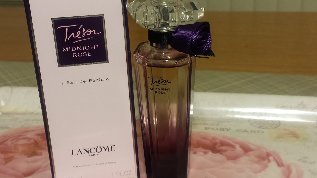 perfume review lancome tresor midnight rose youtube. Black Bedroom Furniture Sets. Home Design Ideas
