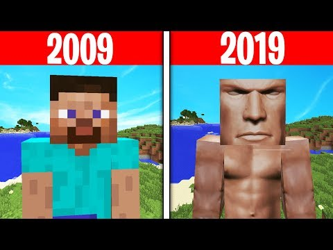 Evolution Of Minecraft Skins