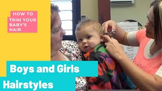 Baby Boy Haircuts - How To Cut Baby Hairstyles