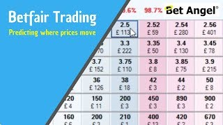 Betfair Trading - Predicting where prices will move - Peter Webb: Bet Angel