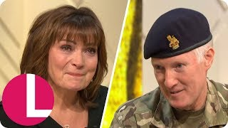 Lorraine Tears Up as She's Named National Honorary Colonel of the Army Cadets | Lorraine