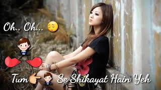 Tum Se Shikayat Hain Yeh Tum Hamein Milte Nahi|Sad WhatsApp Status HD Videos