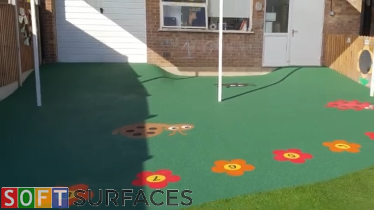 Download Wetpour Surfacing with Graphics Installation in Cheltenham, Gloucestershire   Wet Pour Play Area