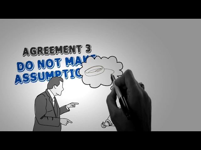 THE FOUR AGREEMENTS BY DON MIGUEL RUIZ - ANIMATED BOOK SUMMARY
