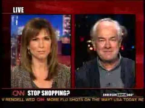 Founder of Adbusters on CNN