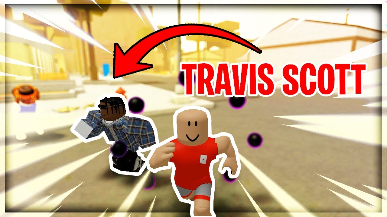 Download So I played with TRAVIS SCOTT in Da Hood... (Funny)