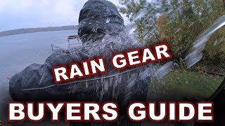 Rain Gear Buyer's Guide