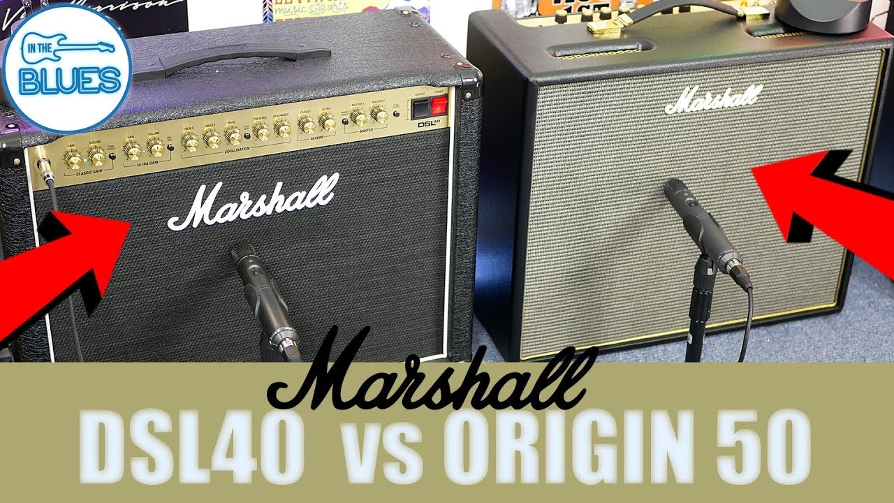 Marshall DSL40 vs Origin 50 Amplifier Comparison - Did I Buy the Wrong One?