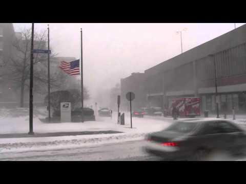 Portland Maine Snowstorm January 12, 2011