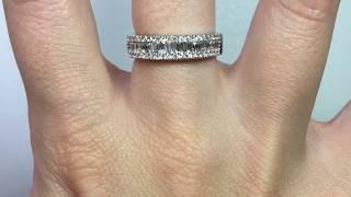 Anillo de Compromiso Media Alianza Diamantes Nicols BAGUETTES 14710310011