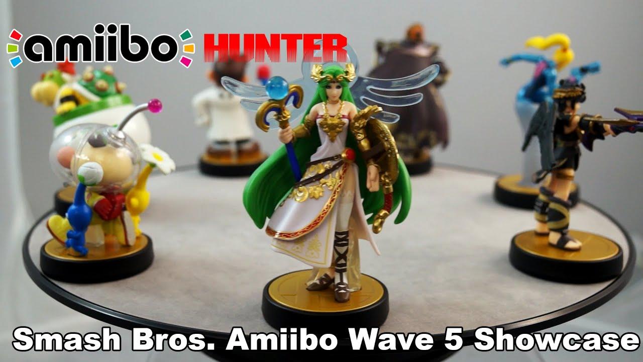 amiibo hunter smash bros amiibo wave 5 showcase youtube