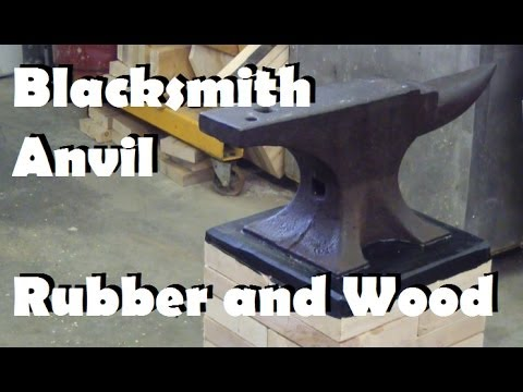 100 year old blacksmith anvil gets a new home