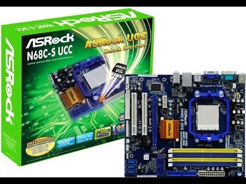 Asrock N68-GS UCC Driver Windows XP