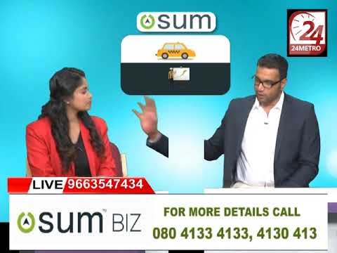 Founder and CEO of Osum Cabs talks about OsumBiz Model- in Metro Tv live