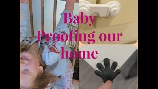 Baby proofing our home