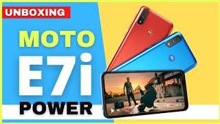 ▷ Conoce el Nuevo Moto E7i Power