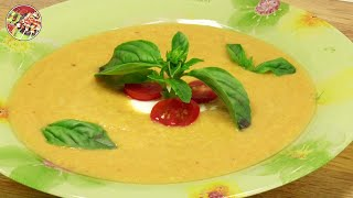 Крем - суп из кабачков и шампиньонов. Просто! Вкусно! Недорого!