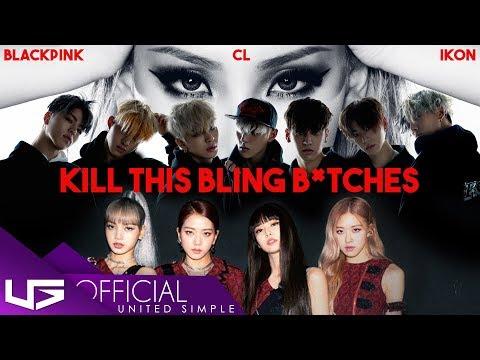 "BLACKPINK IKON - ""KILL THIS LOVE x BLING BLING x HELLO B"" ft. CL | KPOP MASHUP"