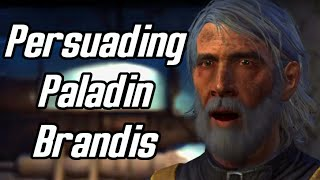 Fallout 4. Persuading Paladin Brandis to rejoin Brotherhood. Grape Mentats.
