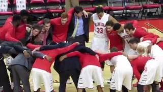 Best College Basketball Pre-Game Huddle - Fairfield Stags Men's Basketball - 2015-2016