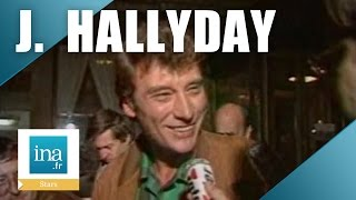 Johnny Hallyday : la naissance de sa fille Laura | Archive INA