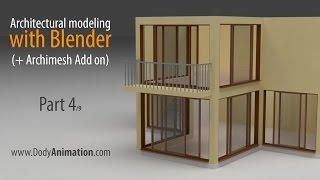 architectural modeling w blender part 4 9