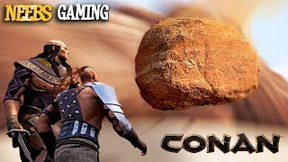 Conan Exiles: Thick and Dora take on Thick's greatest fear - a gian...