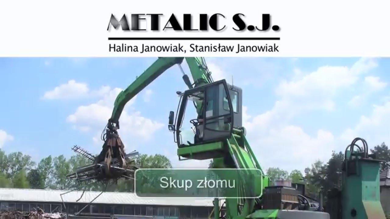 METALIC SJ - skup złomu, złomowanie, autozłom, kasacja pojazdów, szrot - Nowy Targ