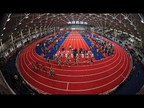 Inside Liberty University's Hydraulic Indoor Track | Beynon Sports