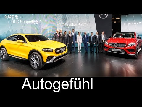 New Mercedes SUV lineup Daimler CEO Dr. Dieter Zetsche about GLE (Coupé) and GLC (Coupé)