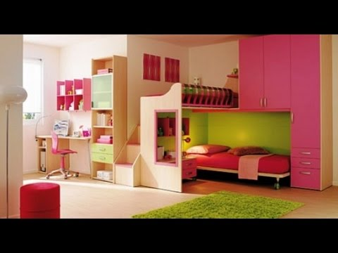 Cool teen girl bedroom ideas for small rooms youtube for Cool small bedroom designs