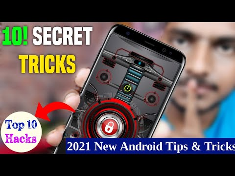 Top 10 New Secret Android Tips & Tricks Of 2021 | Android Mobile Useful settings | 2021 New Tric