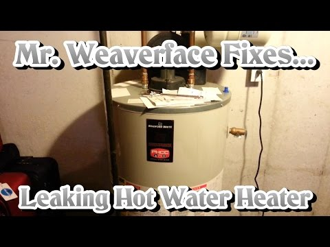 The DIY How To Fix Leaking Hot Water Heater -- Faulty Expansion Tank & Relief Valve
