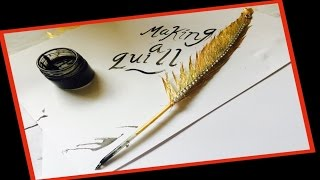 Making a quill