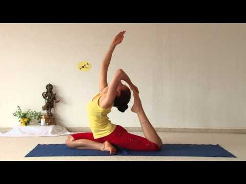 Advanced Yoga Demonstration with Aruna