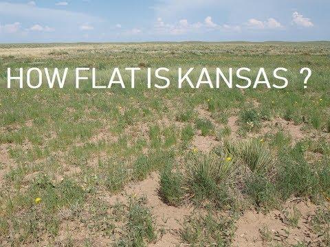 How Flat Kansas Really Is?