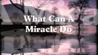 What Can A Miracle Do - The Main Ingredient