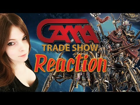 Gama Trade Show Reaction! The New Look Of The Black Legion!