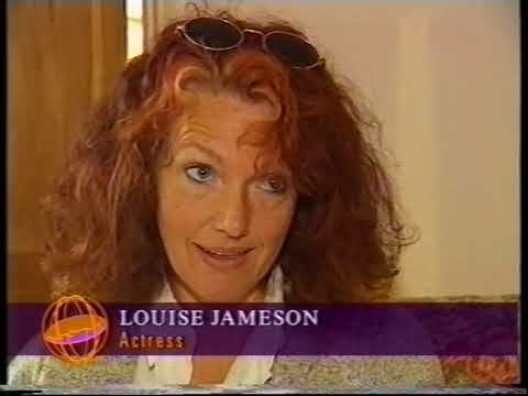 Local TV report on the Doctor Who TVM, BBV with Louise Jameson