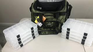 Okeechobee Fats Fisherman Deluxe Tackle Bag