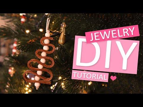 DIY Tutorial: Lederen kerstboomhanger
