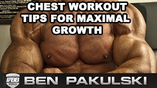 Chest Workout - Ben Pakulski Teaches Chest Workout Training